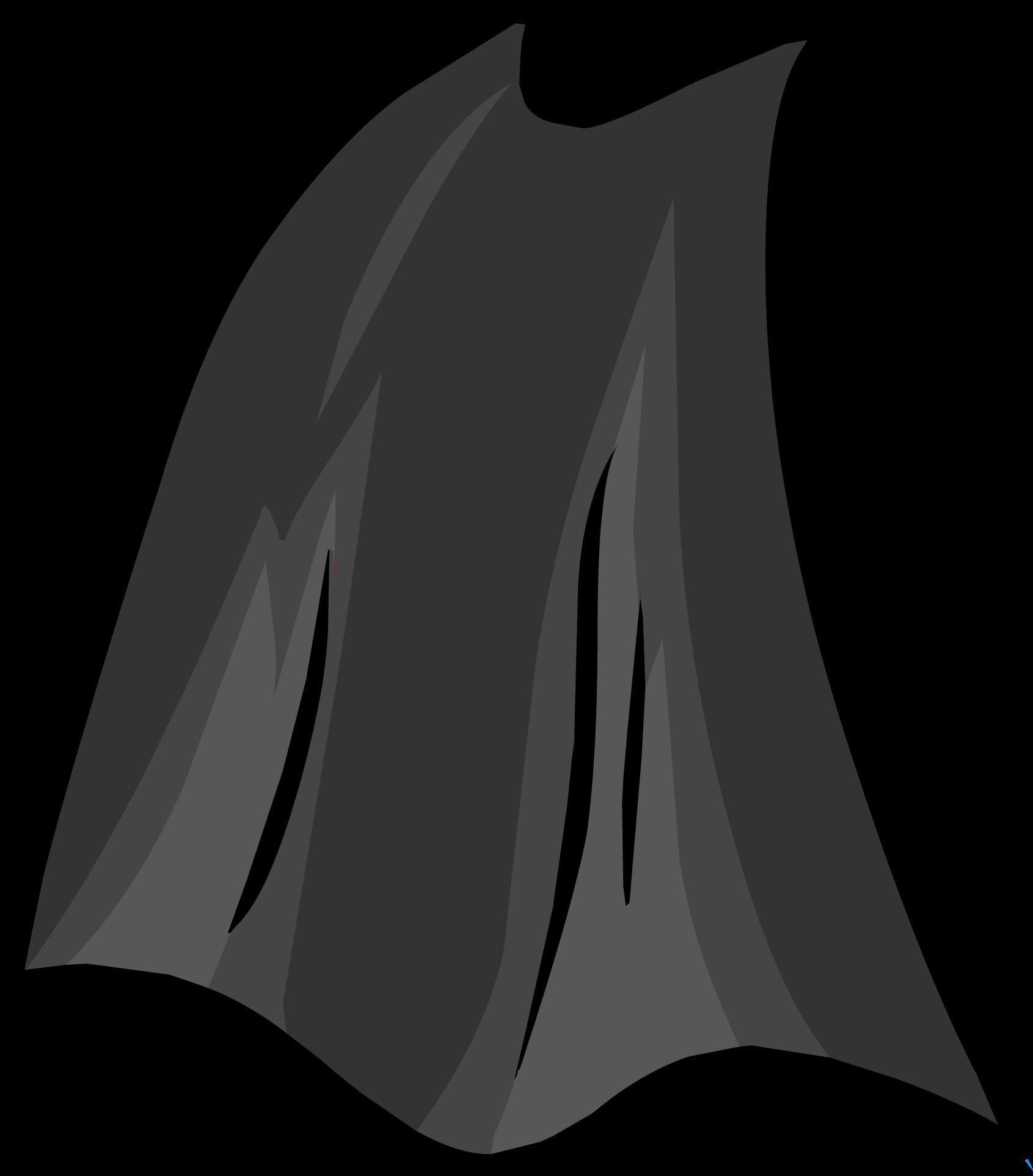 Magician clipart cape. Black club penguin rewritten