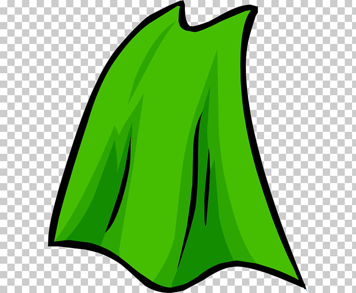 Club penguin clothing png. Cape clipart green