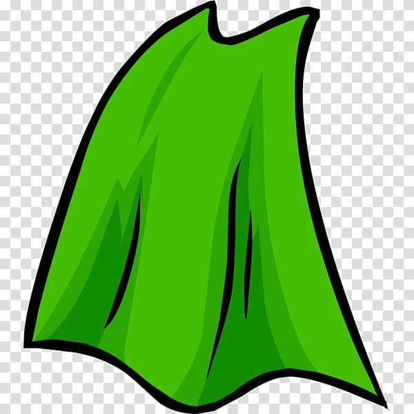Club penguin clothing transparent. Cape clipart green