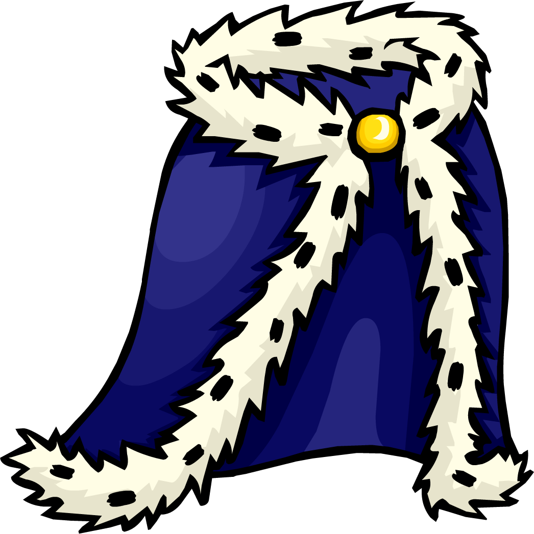 Robe club penguin wiki. Night clipart royal blue