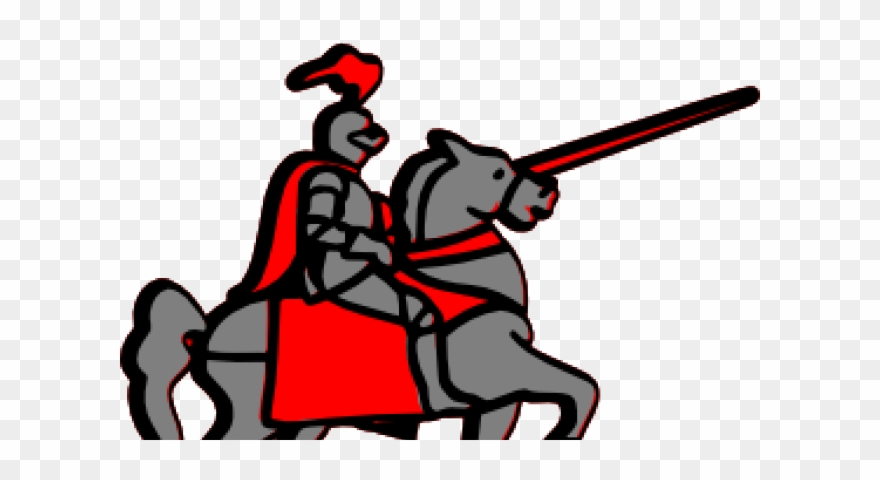 Knight clipart medieval person. Period jousting horse cartoon