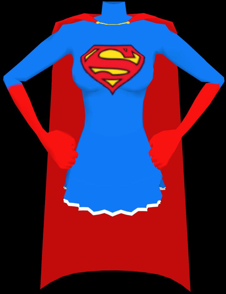 Supergirl cape pencil and. Gloves clipart superhero