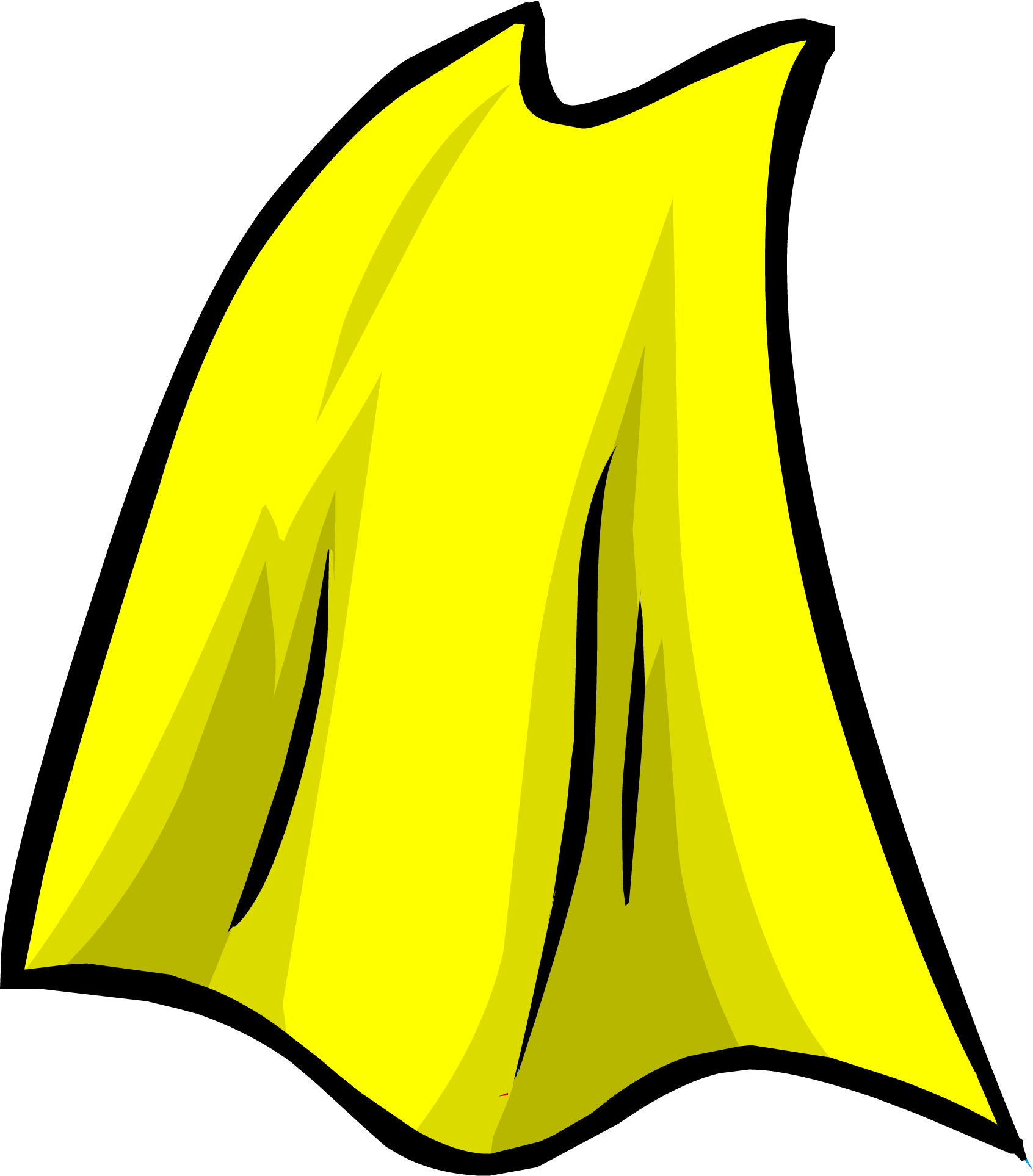 Cape clipart transparent. Image yellowcape png club