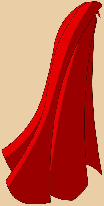 Image red hero s. Cape clipart transparent