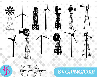 Turbine etsy svgpngdxf for. Cape clipart wind