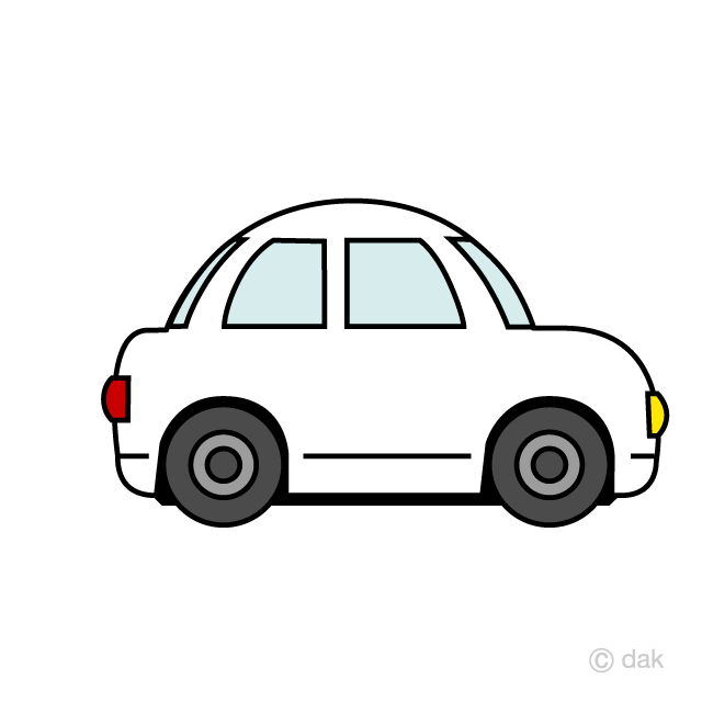 Cute free picture illustoon. Clipart car