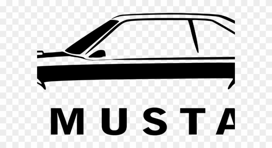 Clipart cars 2015 mustang. Car fox body logo