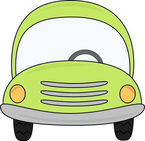 Car clipart. Clip art images green