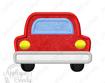 Cars clipart backside. Rear end etsy car