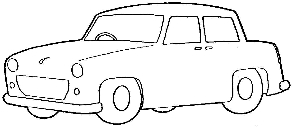 Clipart cars black and white. Best car clipartion com