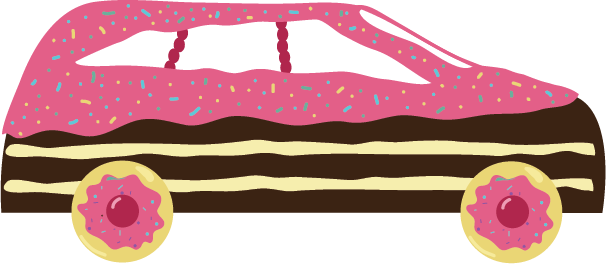 Little big imagination covered. Cars clipart candy
