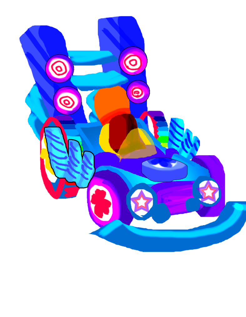 Sugar rush by asoq. Clipart car candy