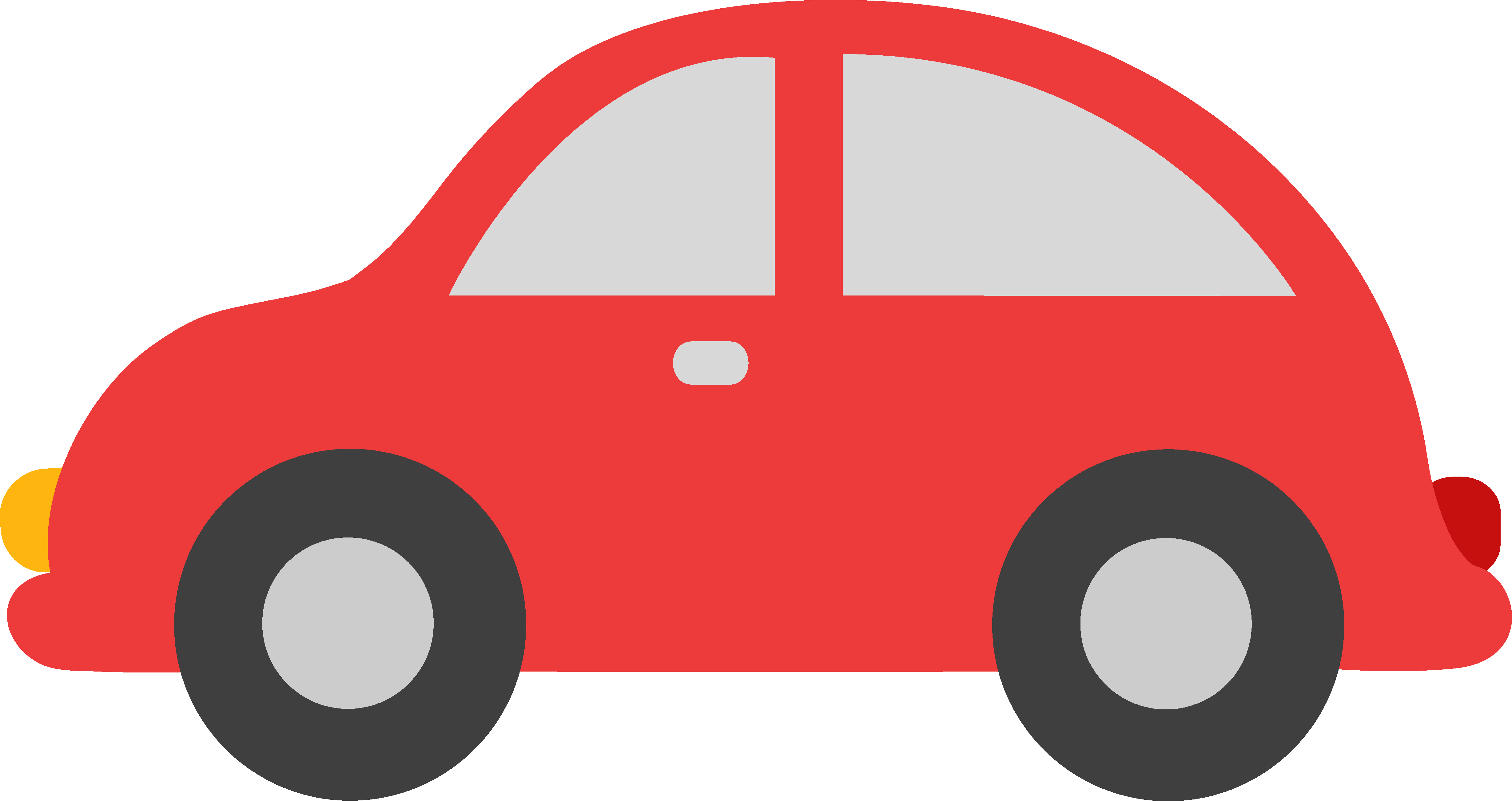 Transportation clipart vector. Free cute car cliparts