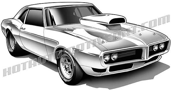 Cars Clipart Firebird Cars Firebird Transparent Free For Download