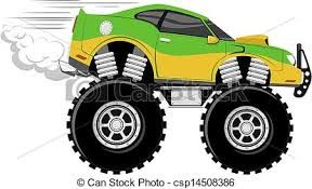 best truck images. Car clipart monster