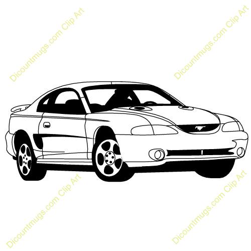 Mustang clipart mustang cobra. Car panda free images