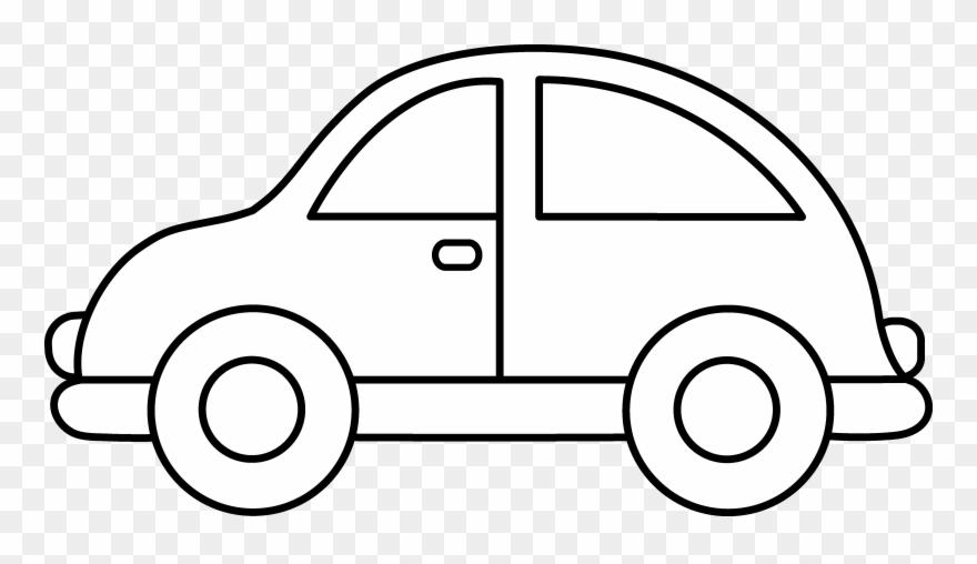 Toy clip art black. Car clipart outline