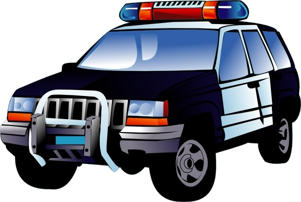 Clipart cars police. Cartoon car clip art