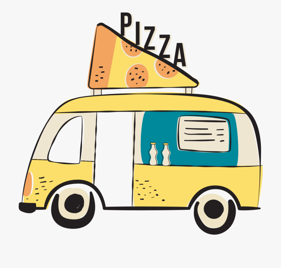 Delivery car clip art. Clipart cars pizza