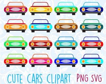 Cars clipart printable. Car clip art cute