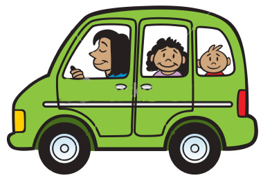 Minivan clipart kid.  collection of going