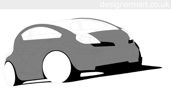 Designer mart tutorials photoshop. Car clipart shadow