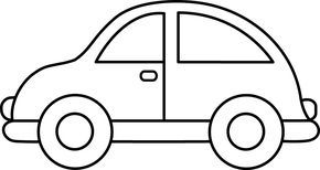 Toy car clip art. Clipart cars simple