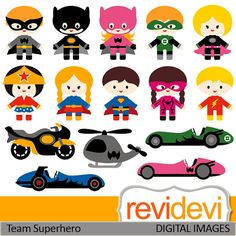 Car clipart superhero. Cliparts boys and girl