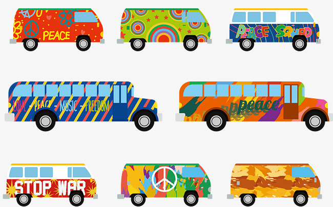 Vector painted car circus. Cars clipart transporter