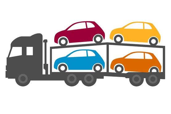The logistics operators who. Clipart cars transporter