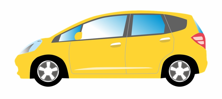 Clipart cars yellow. Car auto automobile vehicle
