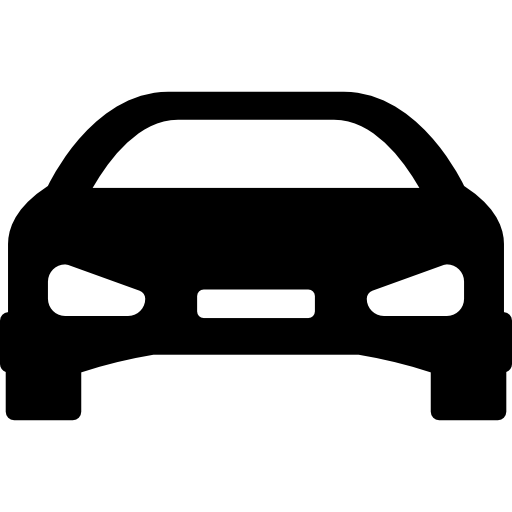 Car vector png. Flat black icon page