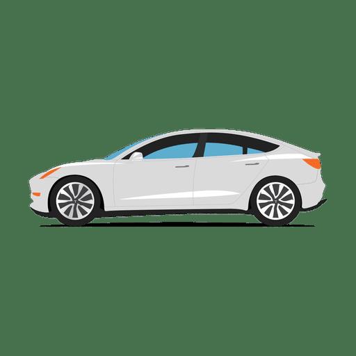 Tesla svg transparent carsvg. Car vector png