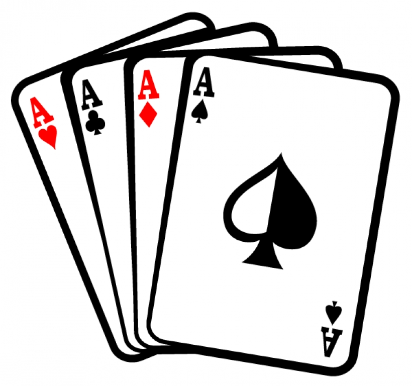 Playing card free download. Cards clipart black and white