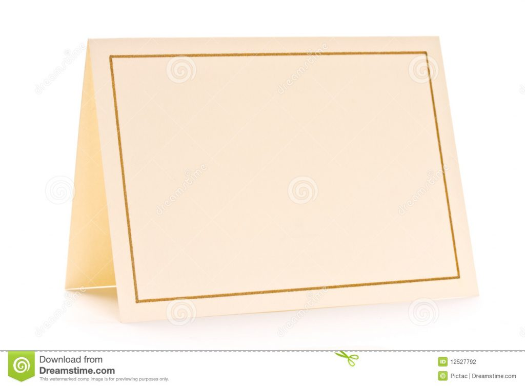 Cards plain
