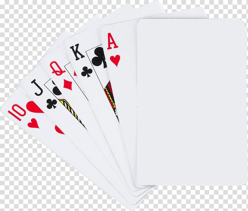 Playing card game . Cards clipart transparent background