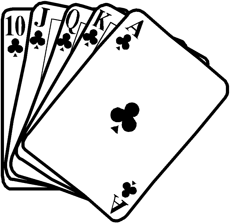 Card clip art free. Cards clipart drawing