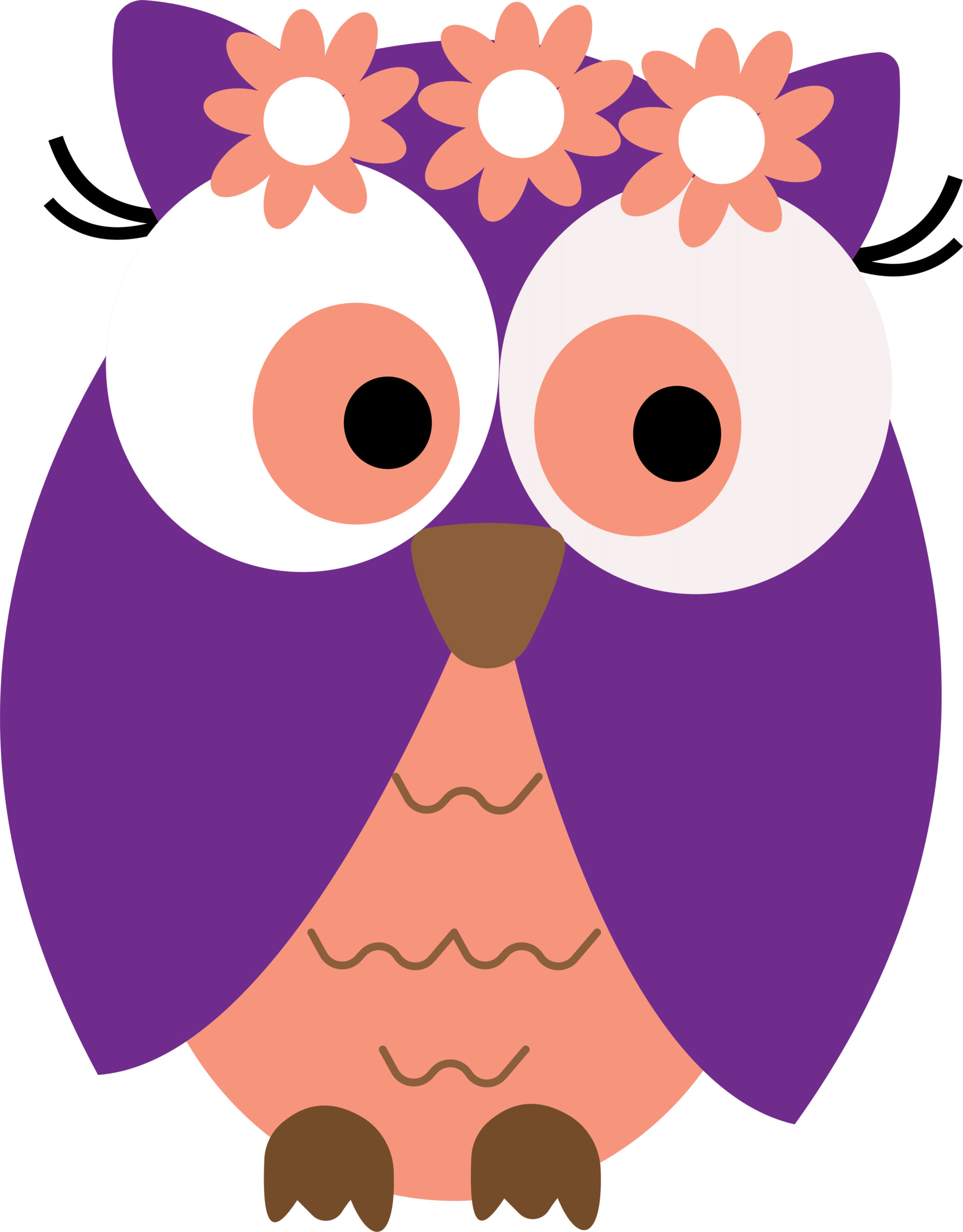 Ch b graduation owls. Night clipart cute