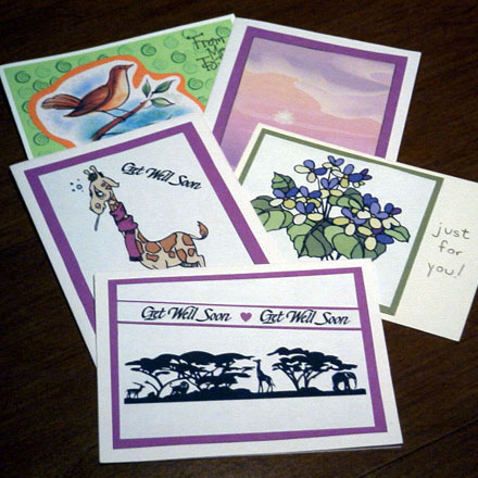 Card clipart clip art. How to make matted