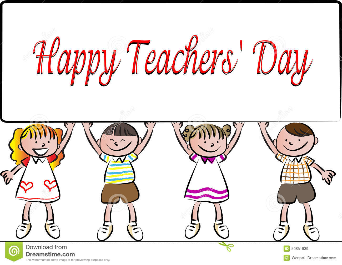 Pictures teachers day pencil. Cards clipart drawing
