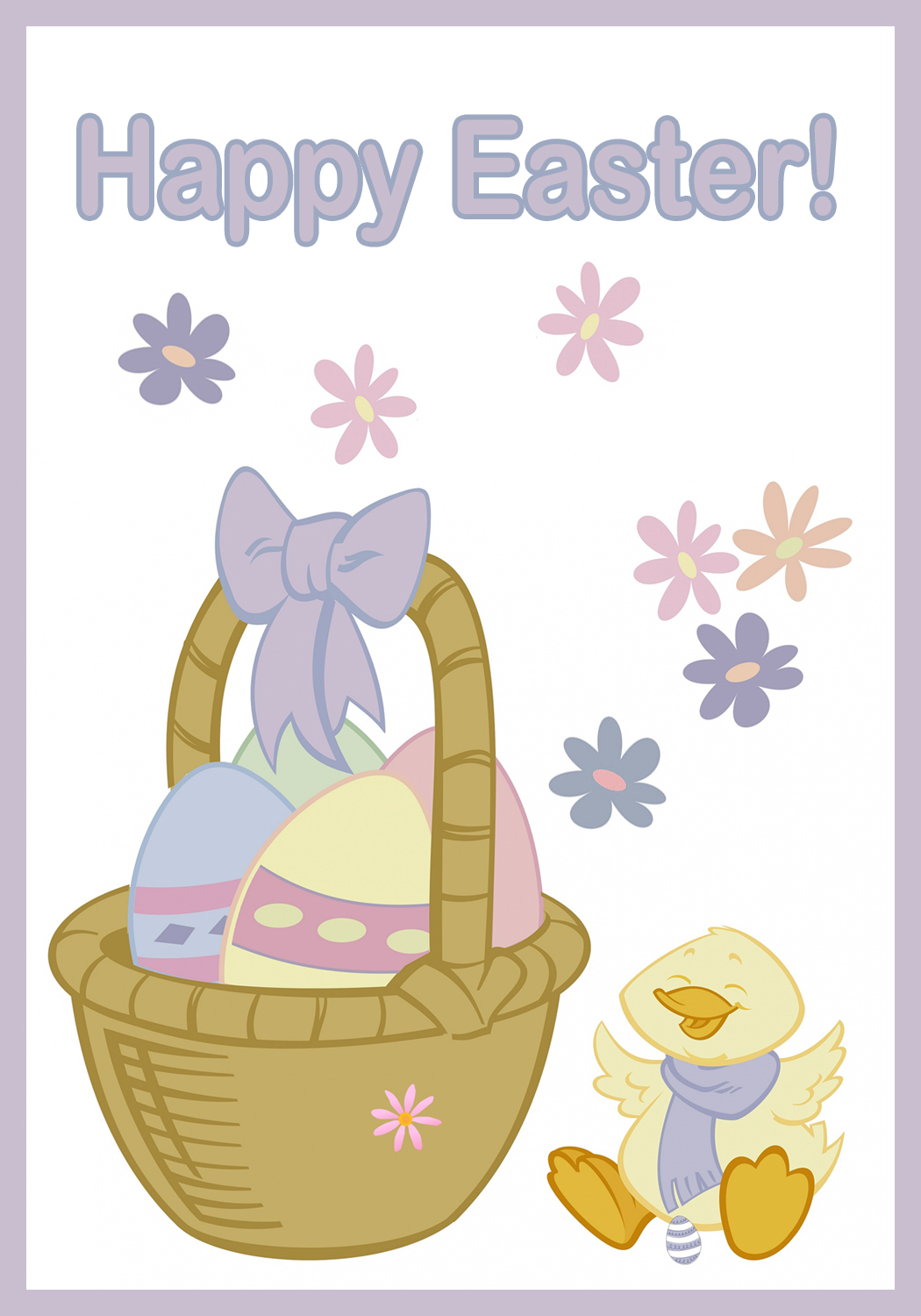 Cards clipart easter. Free printable greeting card