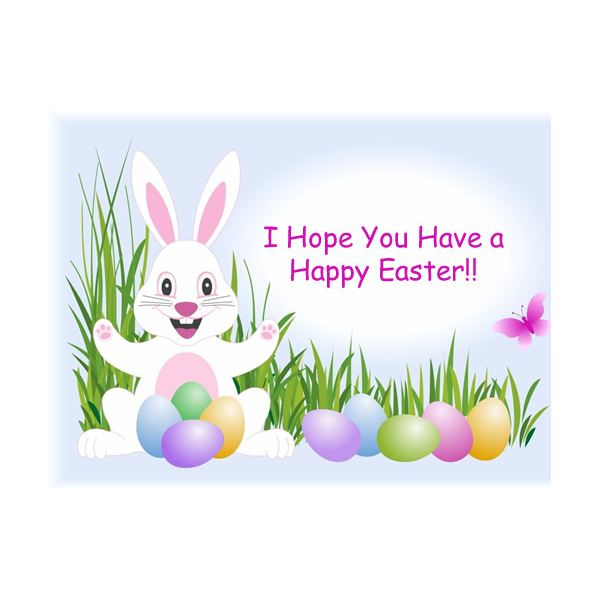 Five backgrounds for greeting. Cards clipart easter