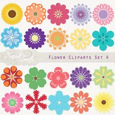 Card clipart flower. Power cute digital commercial