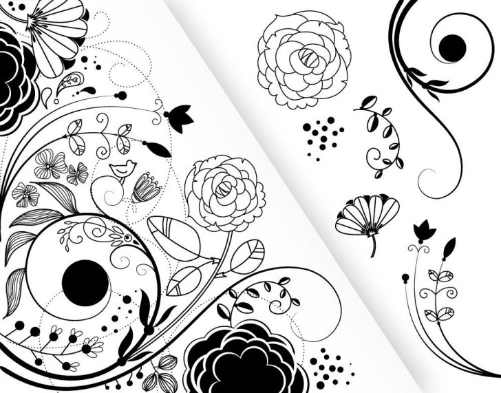 Wedding flowers cliparts. Card clipart flower