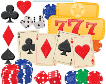 Dice etsy gamblers choice. Cards clipart gamble