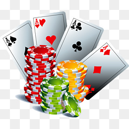 Chips png vectors psd. Cards clipart gamble