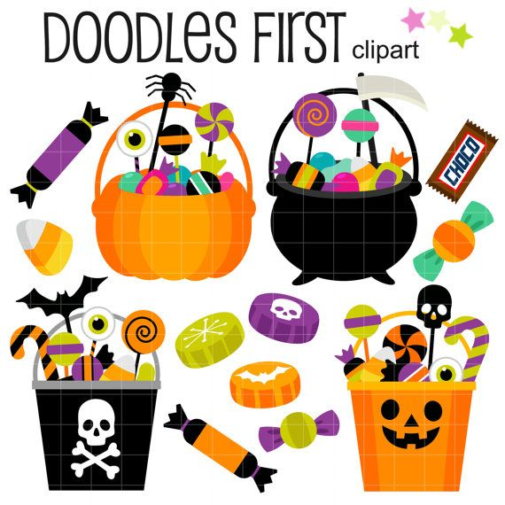 best food images. Card clipart halloween