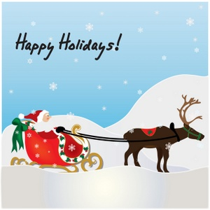 cards clipart holiday card