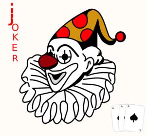 Cards clipart joker. Card clip art at