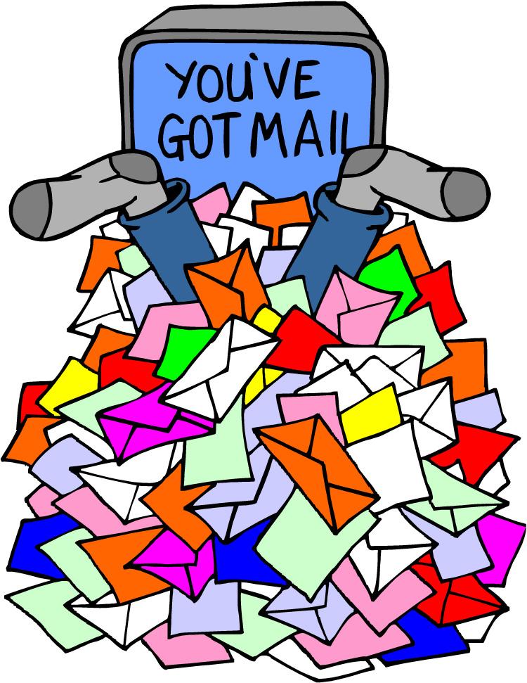 Card clipart mail. You ve got karma